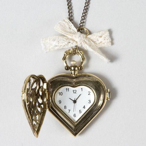 Heart Locket with Bow