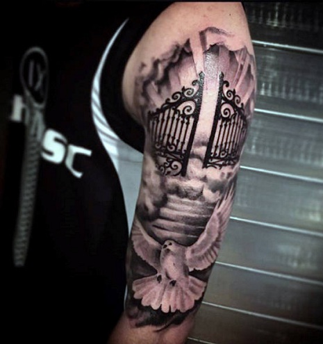 Heavenly Gates Tattoo