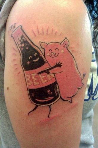 food tattoos design