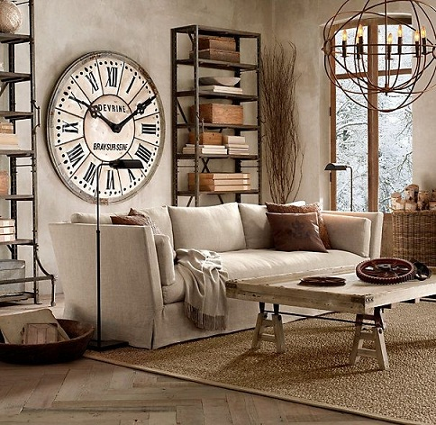 Industrial style furniture