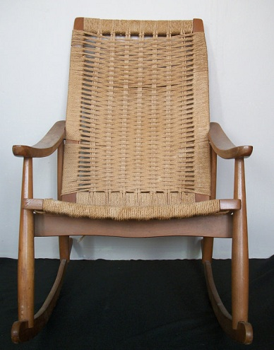 Jute Rocking Chair-6