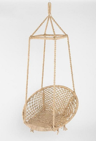 Jute Swing Chair