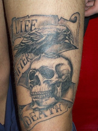Life after death tattoo