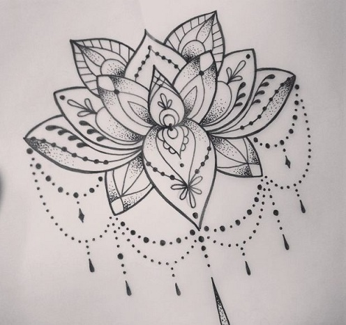 Lotus Mandala Tattoo Designs