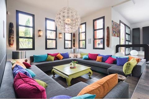 Luxurious Living Room Décor