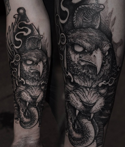 Macabre Animal Tattoos