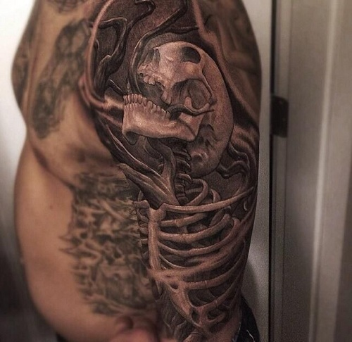 Macabre Monster Tattoos