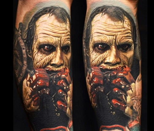 Macabre Zombie Tattoos