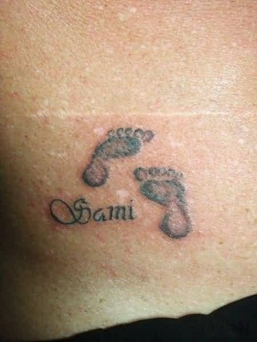 Marvellous Footprint Tattoo Designs