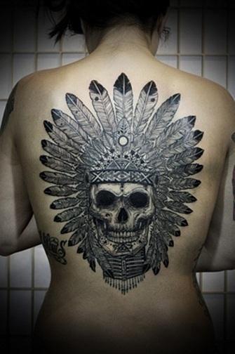 Marvellous Gangster Tattoo Design