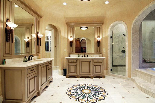 Mediterranean Bathrooms