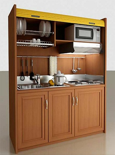 Mini Kitchen Cupboard Design