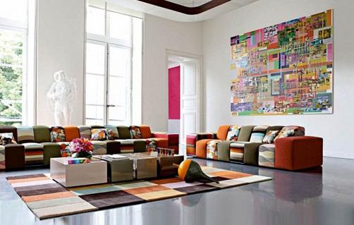 Modern Décor Living Room