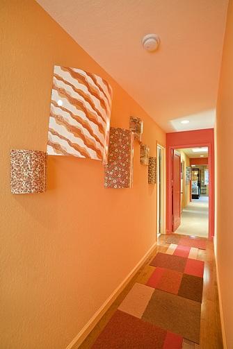 Modern Hallway Painting
