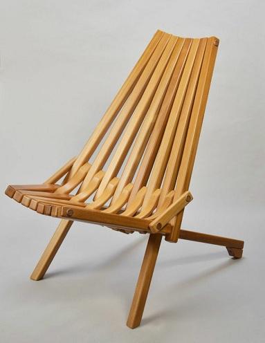 Modern Teak Wood Chair