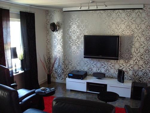 Modern Wallpaper Hall Design