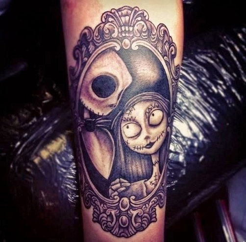 Mysterious Ghost Tattoo Designs