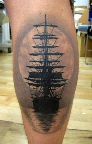 Calf Tattoo Designs