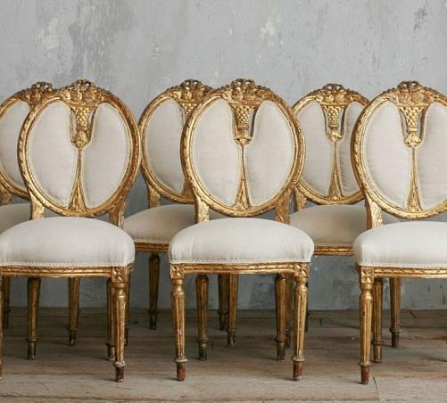 Oval Dining Chairs