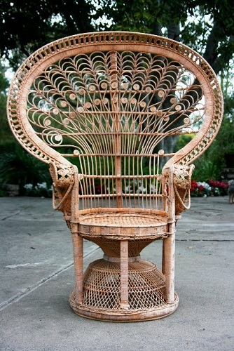Peacock Split Bamboo Chair