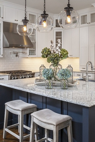 Pendant lighted Countertop