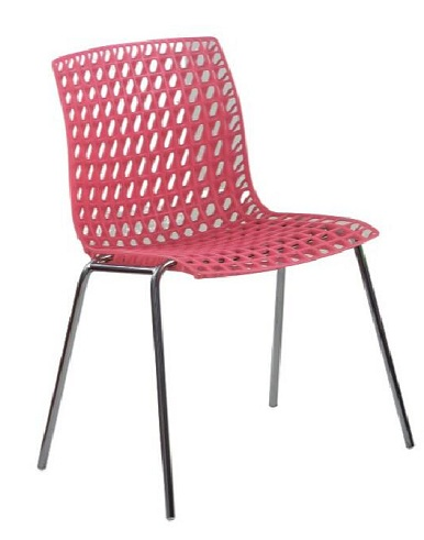 Perforated Plastic Chair