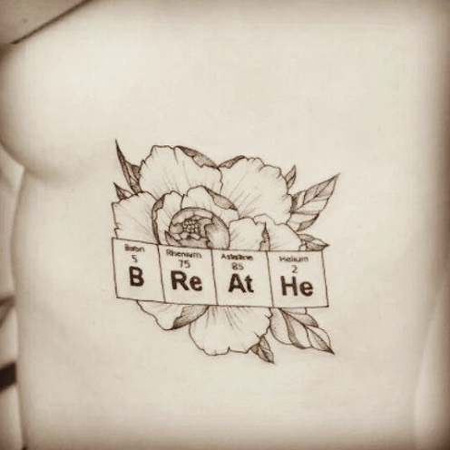 Periodic Element Chemistry Tattoos