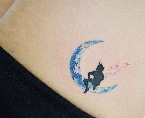 Peter pan Disney Tattoo