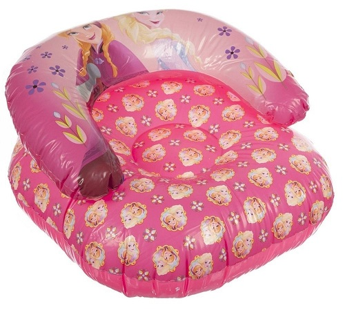 Pink Frozen Disney Inflatable Chair for Kids
