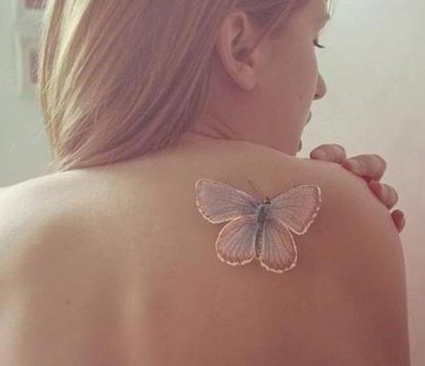 Pinkish gold Tattoo