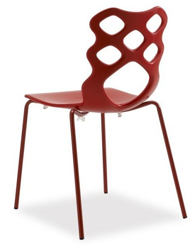 Plastic Diamond Shaped Chair