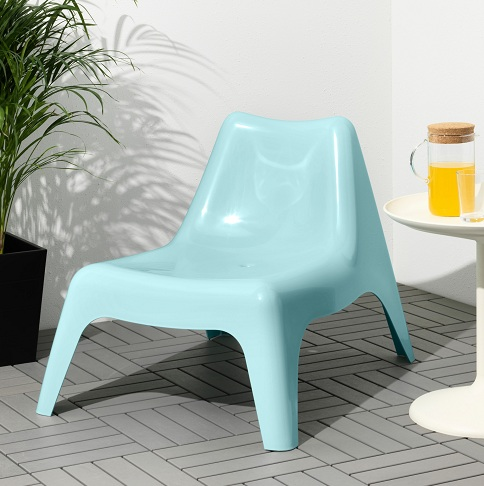 Plastic Easy Chair