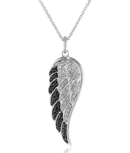 Platinum Angel Locket