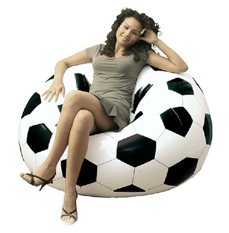 Portable Football Style Inflatable Chair