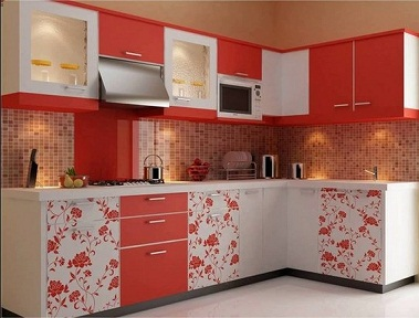 Printed Italian kitchen design