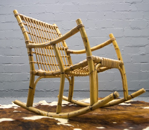 Rocking Bamboo Chairs