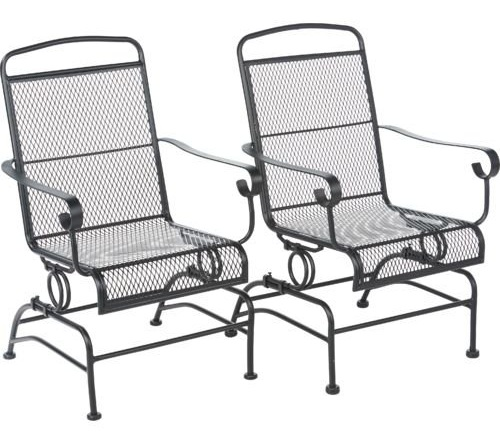 Rocking or Rock Steel Chair