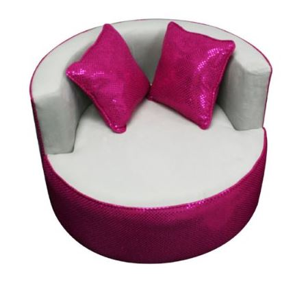 Round Kids Chair