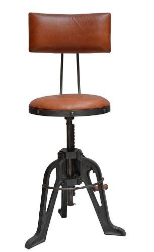 Round Shape Artistic Bar Chairs