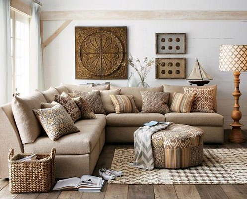 Rustic living room designs
