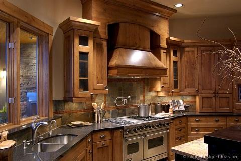 Rustic look Kitchen Design