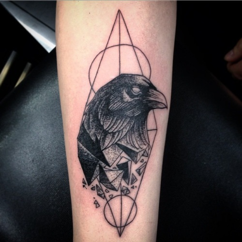 crow tattoo designs
