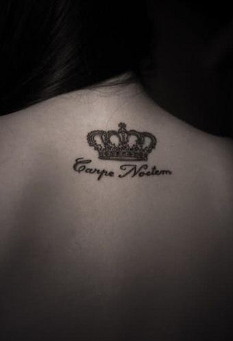 Script of King Tattoo