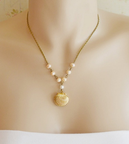 Sea Shell Locket