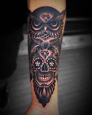 Sensational Calf Tattoo Design