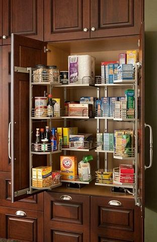 Simple Shelfing Kitchen Cupboard Design