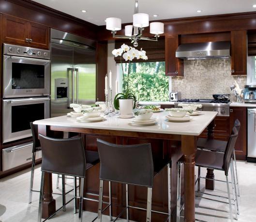 Simple Sober designer kitchen