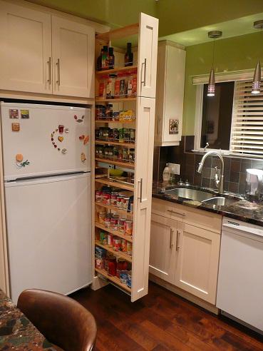 Slim Kitchen Drawers