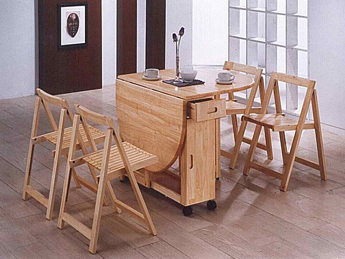 Small Foldable Dining Chair