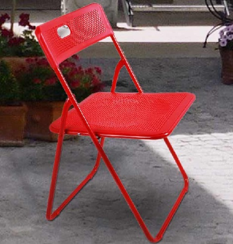 Small Foldable Relaxing Plastic Chair